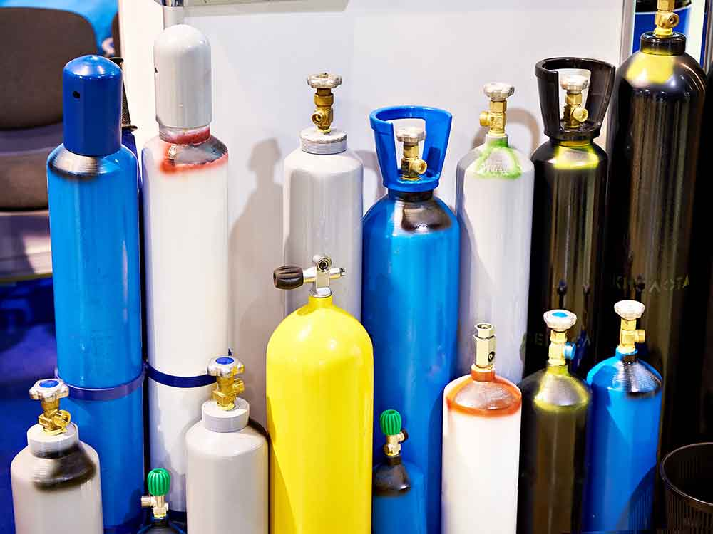Welding-gas-canisters